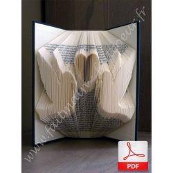 Loving birds folded book
