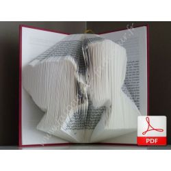 Lovers folded book