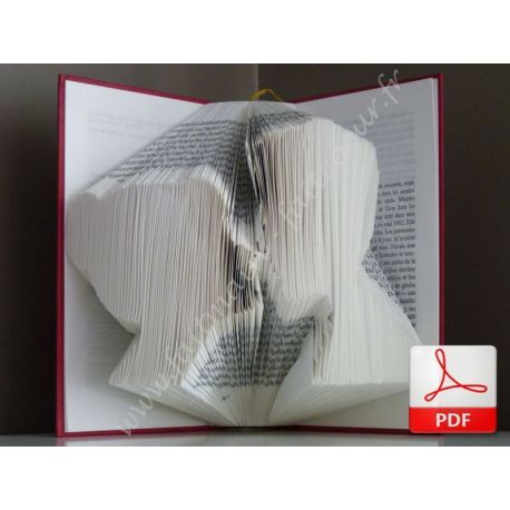 Folded book pattern Lovers