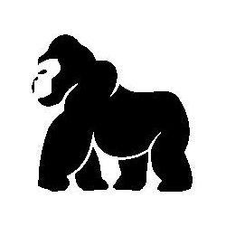 Pliage de livre gorille
