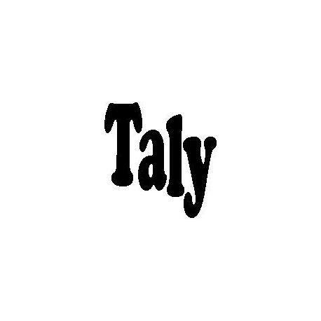 Patron livre plié Taly
