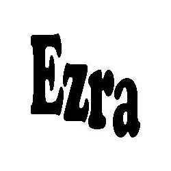 Ezra folded book