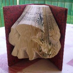 Toothless folded book