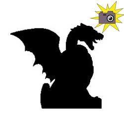 Patron livre plié dragon