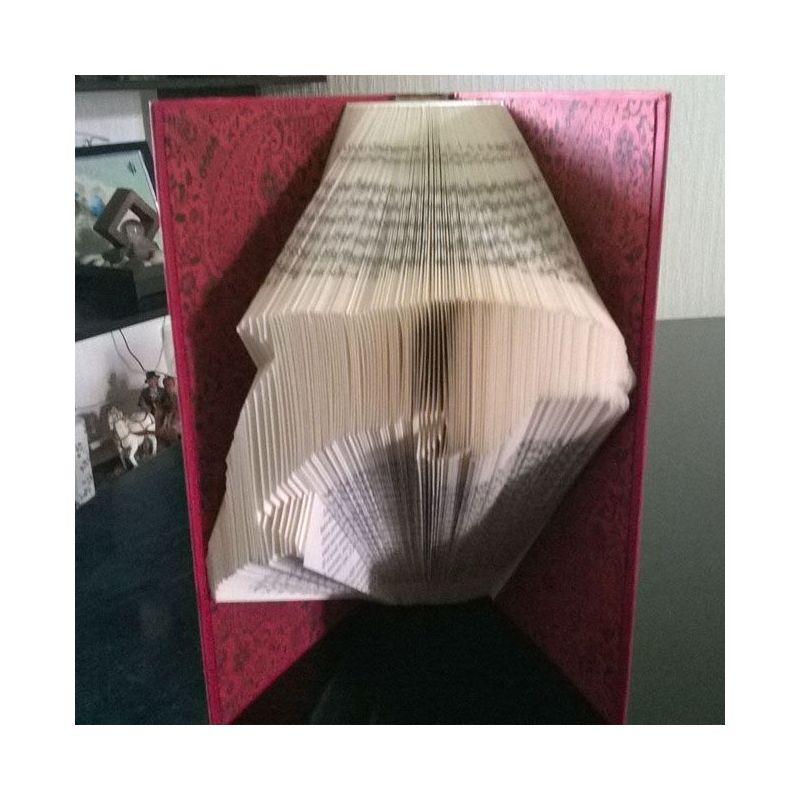 patron pour r aliser un livre pli dauphin. Black Bedroom Furniture Sets. Home Design Ideas
