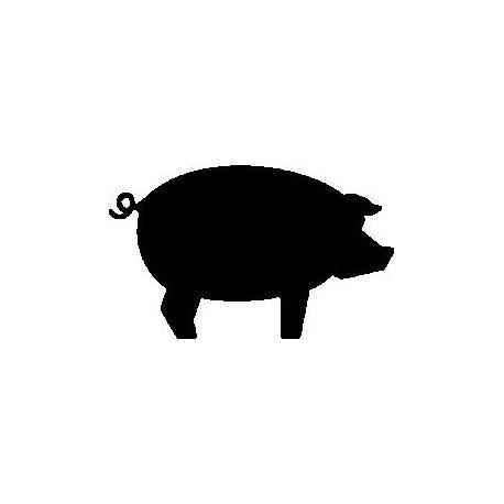 Patron livre plié cochon