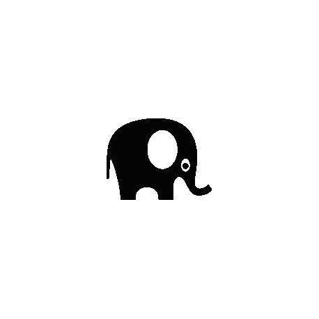 Elephant folded book pattern