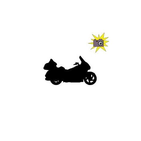 Patron livre plié moto Goldwin
