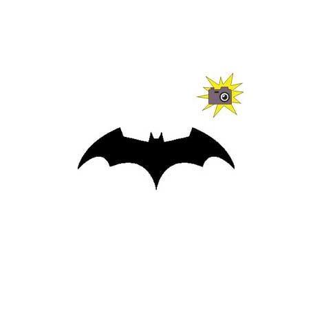 Patron livre plié Batman