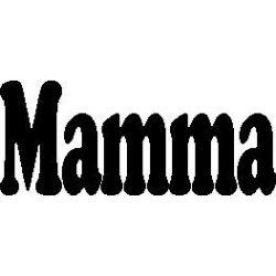 """Patron livre plié """"Mamma"""""""