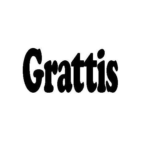 """Patron livre plié """"Grattis"""""""