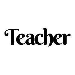 Teacher folded book