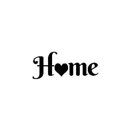 """Patron livre plié """"Home"""""""