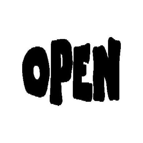 """""""OPEN"""" book folding pattern"""