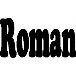 """Patron livre plié """"Roman"""""""