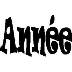 """""""Année"""""""
