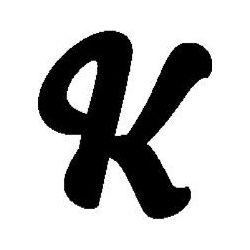 """K"" book folding pattern"