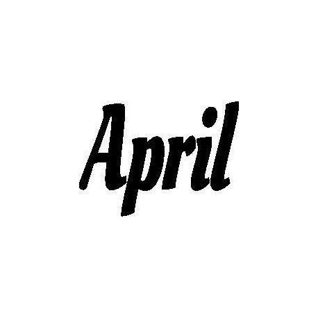 Patron livre plié April