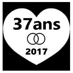 Pliage de livre coeur - 37 ans - 2017