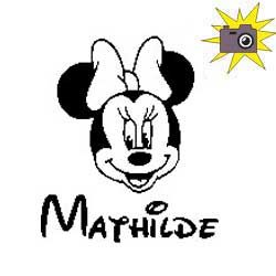 Pliage de livre Minnie Mathilde