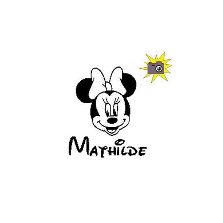 "Patron découp'pliage Minnie ""Mathilde"""