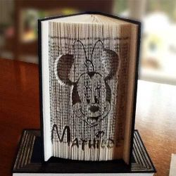 Minnie Mathilde folded book
