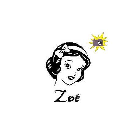 """Patron découp'pliage Blanche-Neige """"Zoé"""""""