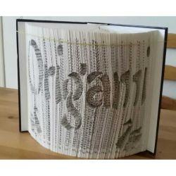 Pliage de livre Origami et grues