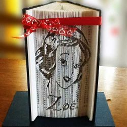 Snow-White Zoé folded book