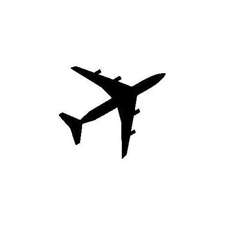 Patron livre plié avion