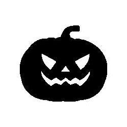 Patron livre plié citrouille Halloween