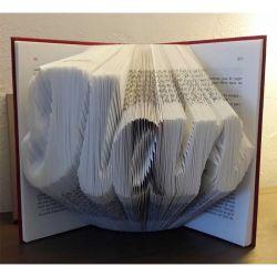 Pliage de livre Ilan (n°2)
