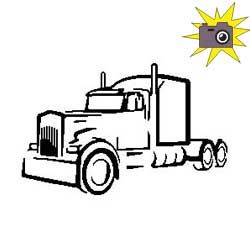 Pliage de livre cabine camion