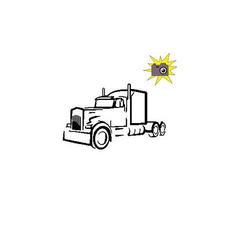 Patron découp'pliage cabine camion