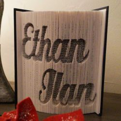 Ethan - Ilan folded book