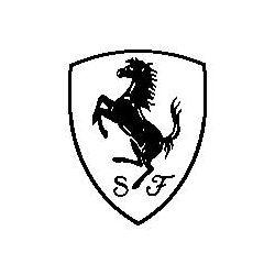 Pliage de livre logo Ferrari