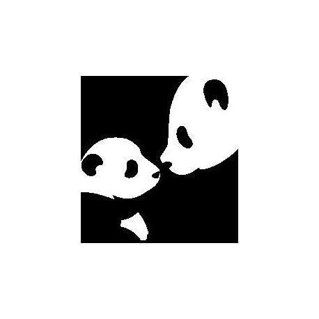 Pliage de livre pandas