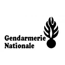 National Gendarmerie cut and fold pattern