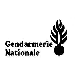 Patron découp'pliage Gendarmerie Nationale