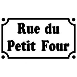 Pliage de livre Rue du Petit Four