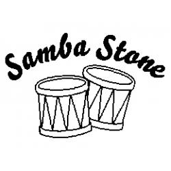 Samba Stone folded book