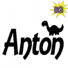 Anton + dinosaur book folding