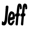 Jeff folded book