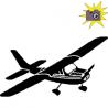 Pliage de livre avion monomoteur