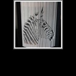 decoup pliage zebre